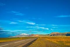 Vue panoramique de paysage islandais Photographie stock