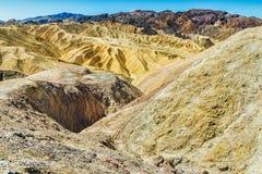 Vue panoramique de point de zabriskie Photo stock