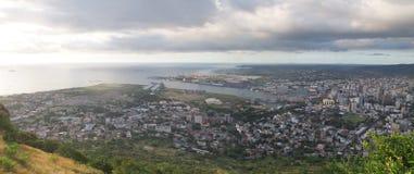 Vue panoramique de Port Louis Photo stock