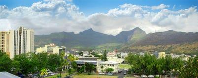 Vue panoramique de Port Louis Photographie stock libre de droits