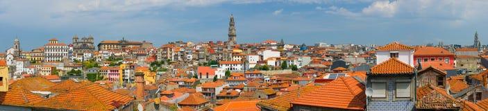 Vue panoramique de Porto image libre de droits