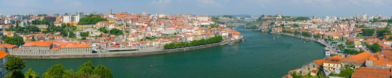 Vue panoramique de Porto photos libres de droits