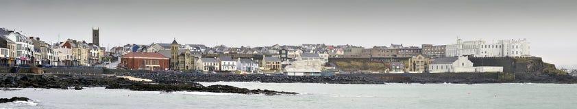 Vue panoramique de Portstewart Photographie stock libre de droits