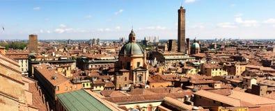 vue panoramique de romagna d'Emilia Italie de Bologna photo libre de droits