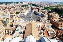 Vue panoramique de Rome Photographie stock