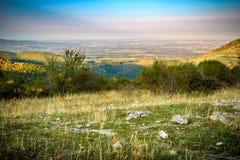 Vue panoramique de Rome de Prenestini Image libre de droits