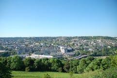 vue panoramique de Rouen photo stock