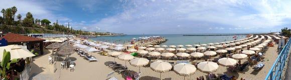Vue panoramique de San Remo Beach Photos stock