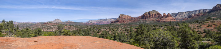 Vue panoramique de Sedona Arizona #1 Photos libres de droits