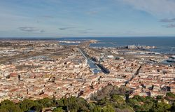 Sete - Herault - France stock images