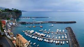 Vue panoramique de Sorrente Photographie stock