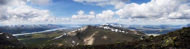Vue panoramique de Sylarna Photographie stock libre de droits