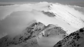 Vue panoramique de Tatry Nizne Photos stock