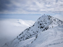 Vue panoramique de Tatry Nizne Photo stock