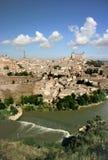 Vue panoramique de Toledo, Espagne image stock