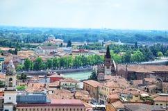 Vue panoramique de Vérone Photo libre de droits