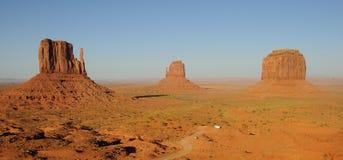 Vue panoramique de vallée de monument Photographie stock