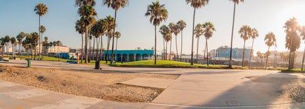 Vue panoramique de Venise artistique étonnante image stock
