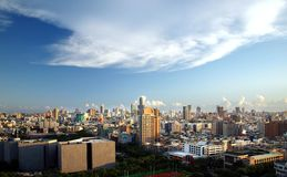 Vue panoramique de ville de Kaohsiung Images stock