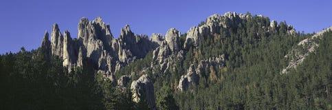 Vue panoramique des aiguilles Photo stock