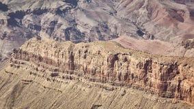 Vue panoramique des formations de roche de Grand Canyon, Etats-Unis images stock