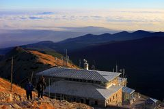 Vue panoramique des montagnes de Tatra en Lesser Poland Photographie stock libre de droits