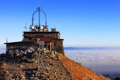 Vue panoramique des montagnes de Tatra en Lesser Poland Images stock