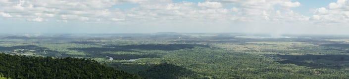 Vue panoramique des terrazas de las, Pinar del Rio Photographie stock