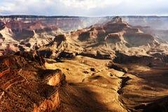 Vue panoramique du canyon grand Photographie stock libre de droits