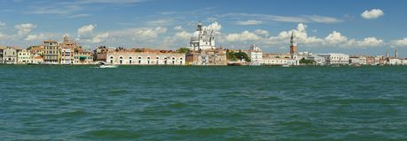 Vue panoramique du centre de Venise photographie stock