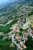 Vue panoramique du Saint-Marin photo libre de droits