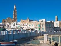 Vue panoramique. Monopoli. Apulia. Photos libres de droits