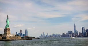Panoramic view New york royalty free stock images