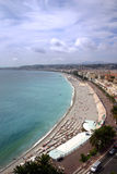 Vue panoramique - Nice - la France Photo stock