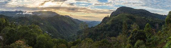 Vue panoramique sur Ella Gap images libres de droits