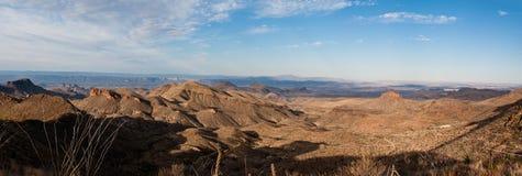 Vue panoramique sur le journal de Dodson Photo libre de droits
