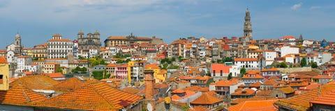 Vue panoramique sur Porto photographie stock libre de droits