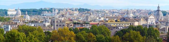 Vue panoramique sur Rome, Italie Photographie stock
