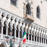 Vue particulière de San Marco Square, Palazzo Ducale (Venise Ital Photos stock