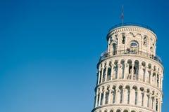 Vue particulière des Di Pise de Torre Image stock