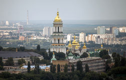 Vue Pechersk Lavra Kiev, Ukraine Images stock