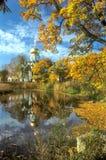 Vue pittoresque dans la couleur d'automne Image libre de droits