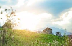 Vue pittoresque de village reculé photographie stock libre de droits