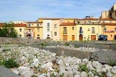Vue pittoresque des maisons Photo libre de droits