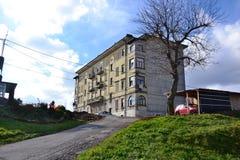 Vue Pivka Postojna, région de village de Prestranek Slovénie de Ljubljana Notranjska Images libres de droits
