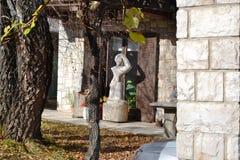 Vue Pivka Postojna, région de village de Prestranek Slovénie de Ljubljana Notranjska Images stock