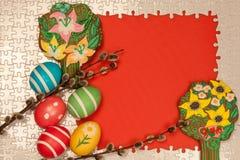 Vue pour des salutations de Pâques Image stock