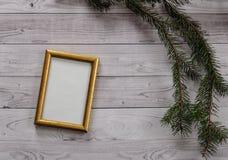 Vue pour la photographie sur une lumière, fond en bois de vintage images libres de droits