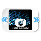 Vue pour la présentation de site Web, la présentation ou les séries d'images projetées, les diapositives ou la disposition en lig Photo libre de droits