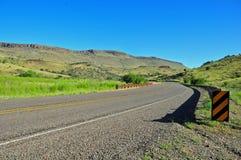 Vue pour la vue sur le Route-frais ouvert Image stock